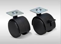 TW Series Nylon Swivel Brake & Plate Brake