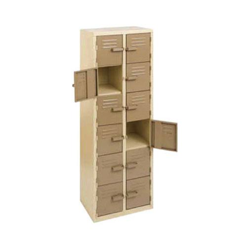 12 Compartment Locker