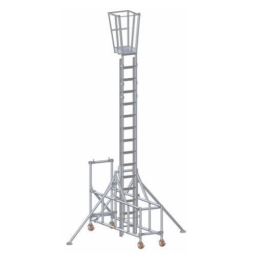 Ladderstage Mobile Platform Trestle Arran Access