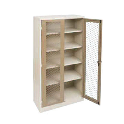 6 x 3 Stationery Cupboard with Mesh Doors