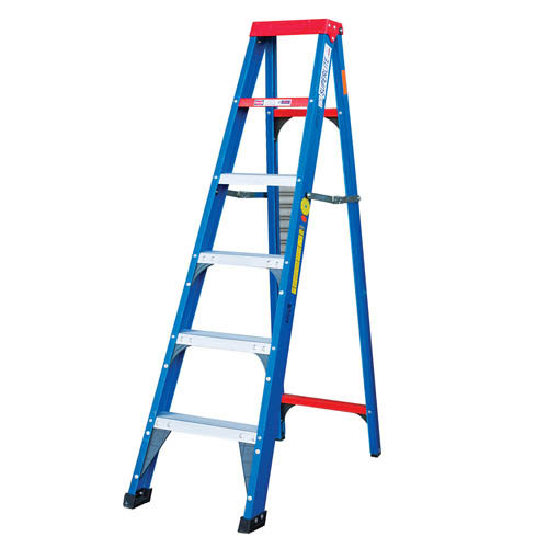 Heavy Duty Single Sided A Frame Ladder with Aluminium Tread