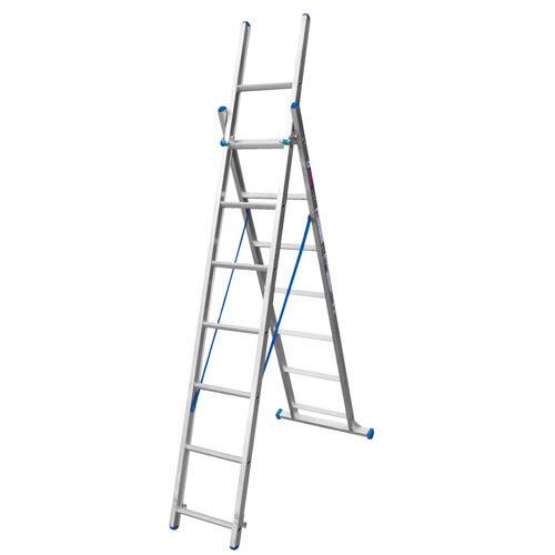 Heavy Duty 3 – In – 1 Step Extension Aluminium Ladder