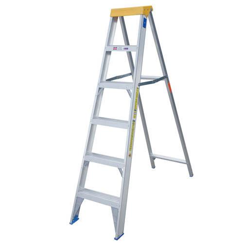 Industrial Duty Single Sided A-Frame Aluminium Ladder