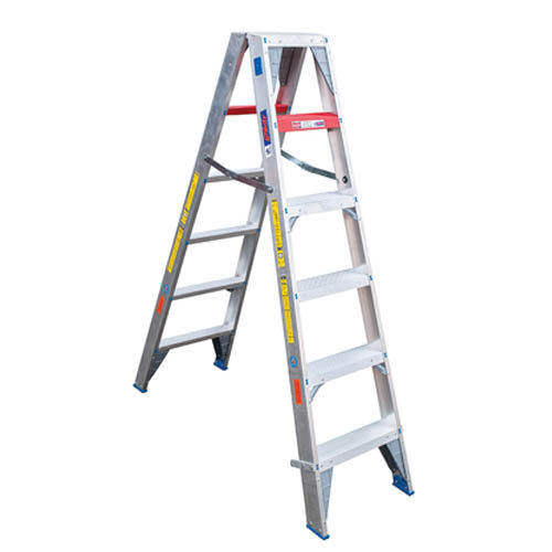 Heavy Duty Double Sided A-Frame Aluminium Ladder ladders for sale