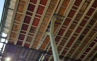 Kwikstage Scaffolding with Bridging Boards